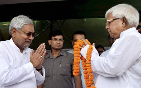 The elections in Bihar once again signalled at the electoral rejection of emotive Hindutva issues as RJD-JD(U)-Congress combine emerged victorious despite intense campaigning by Prime Minister Narendra Modi. (Image: PTI)
